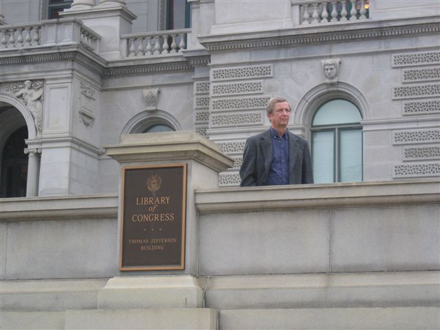 Bob Milne at the Library of Congress